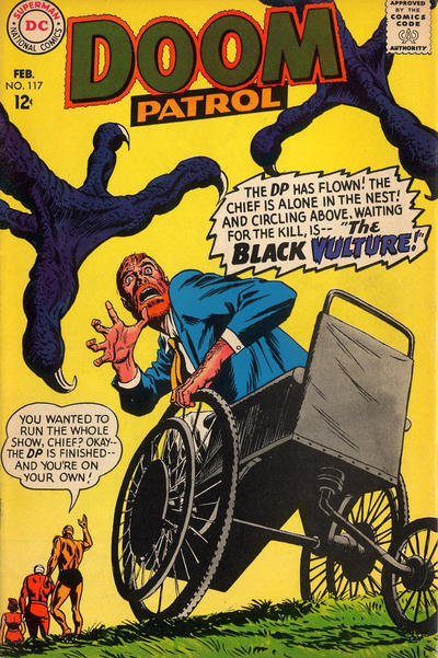 Cover for The Doom Patrol (DC, 1964 series) #117