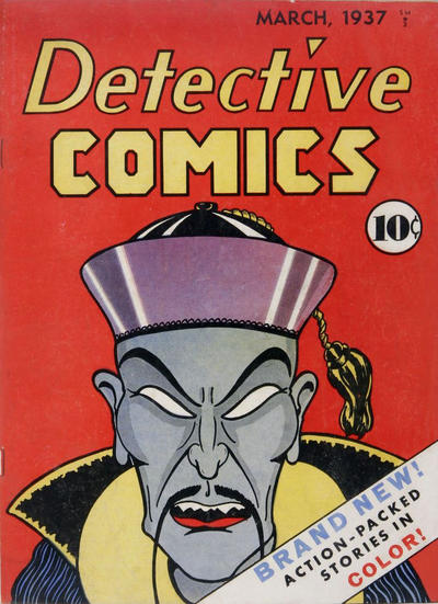 Cover for Detective Comics (1937 series) #1