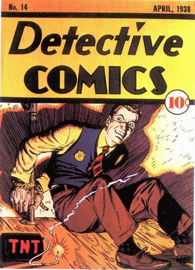 Cover for Detective Comics (1937 series) #14