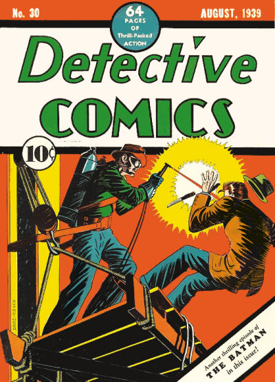 Cover for Detective Comics (1937 series) #30