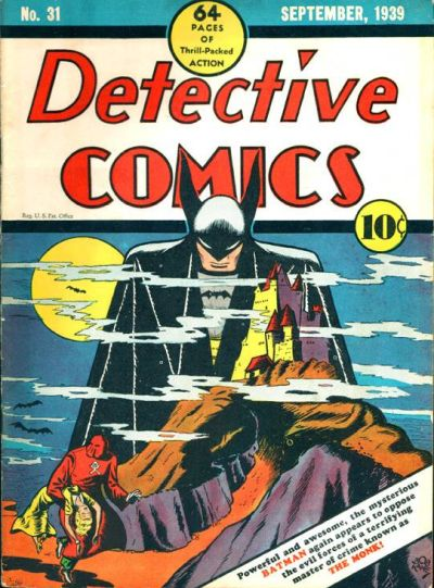 Cover for Detective Comics (1937 series) #31