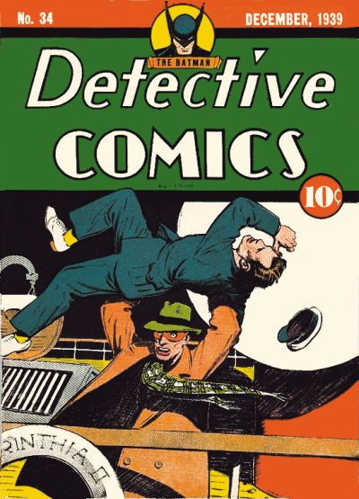 Cover for Detective Comics (1937 series) #34