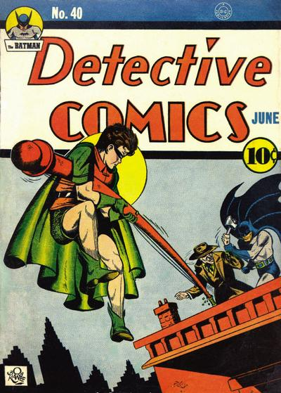 Cover for Detective Comics (1937 series) #40