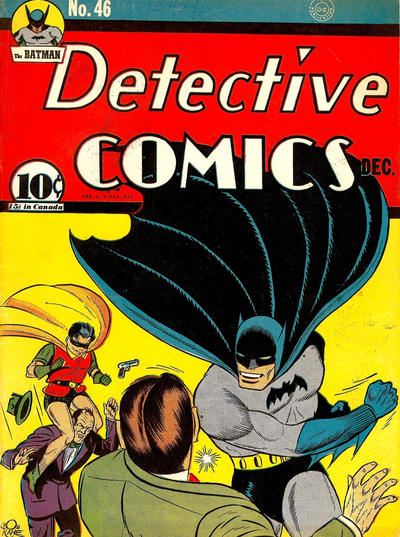 Cover for Detective Comics (1937 series) #46