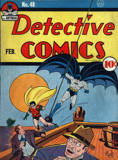 Cover for Detective Comics (1937 series) #48