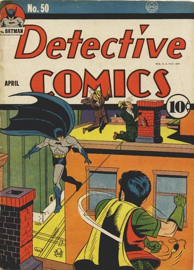 Cover for Detective Comics (DC, 1937 series) #50