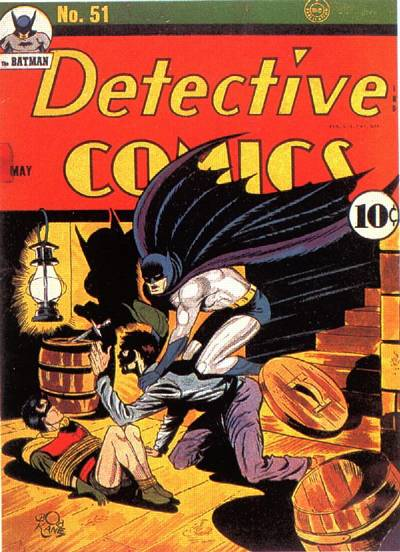 Cover for Detective Comics (DC, 1937 series) #51