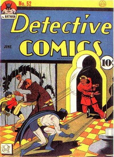 Cover for Detective Comics (DC, 1937 series) #52
