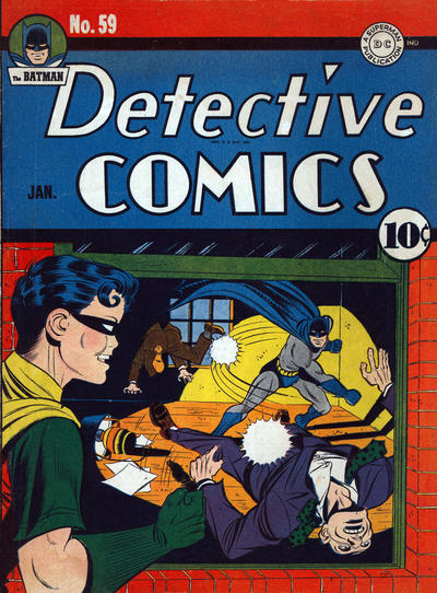 Cover for Detective Comics (DC, 1937 series) #59