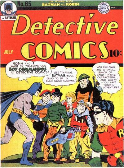 Cover for Detective Comics (DC, 1937 series) #65