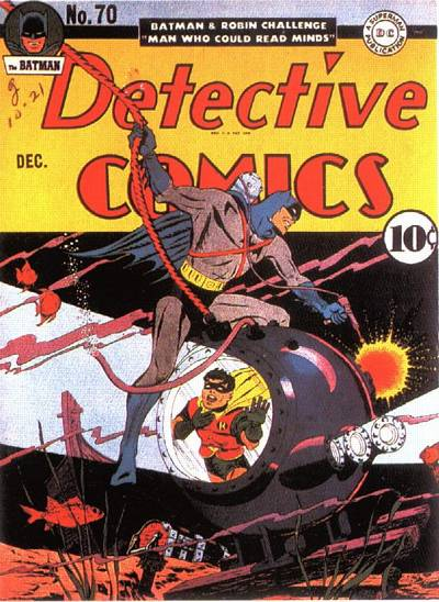 Cover for Detective Comics (1937 series) #70