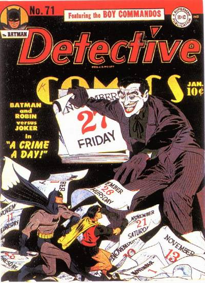 Cover for Detective Comics (1937 series) #71