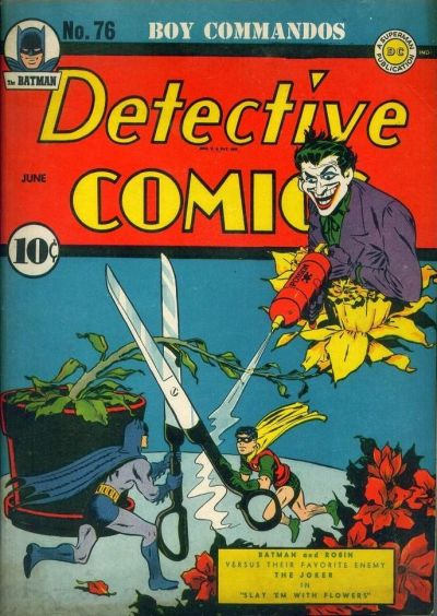 Cover for Detective Comics (1937 series) #76