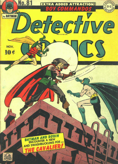 Cover for Detective Comics (1937 series) #81