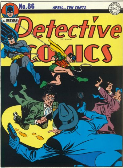 Cover for Detective Comics (DC, 1937 series) #86