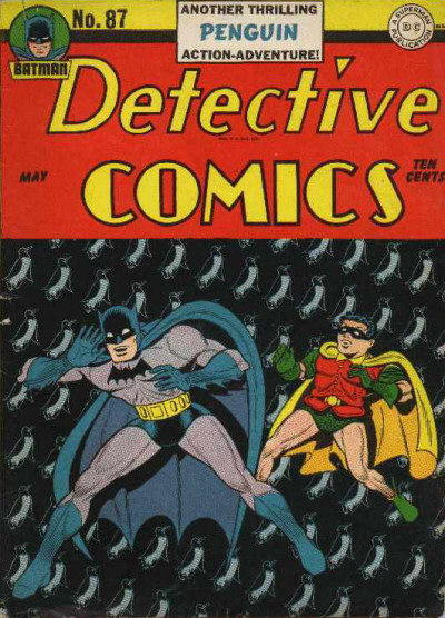 Cover for Detective Comics (DC, 1937 series) #87