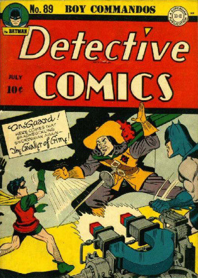 Cover for Detective Comics (1937 series) #89