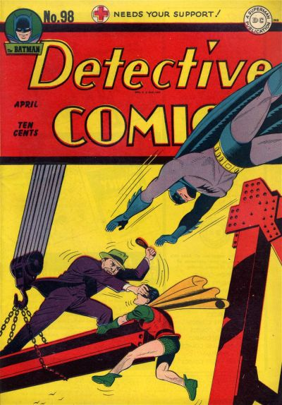 Cover for Detective Comics (1937 series) #98