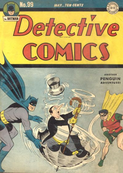 Cover for Detective Comics (DC, 1937 series) #99