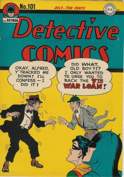 Cover for Detective Comics (1937 series) #101