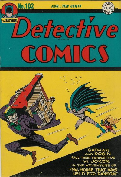 Cover for Detective Comics (1937 series) #102