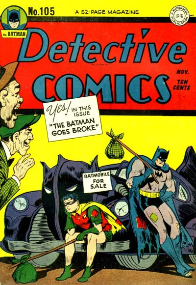 Cover for Detective Comics (1937 series) #105