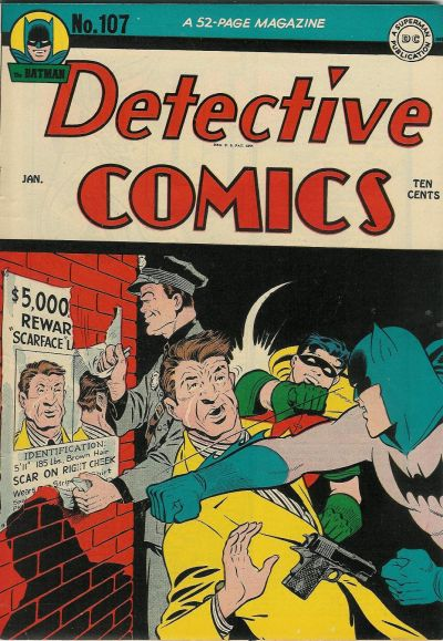 Cover for Detective Comics (DC, 1937 series) #107