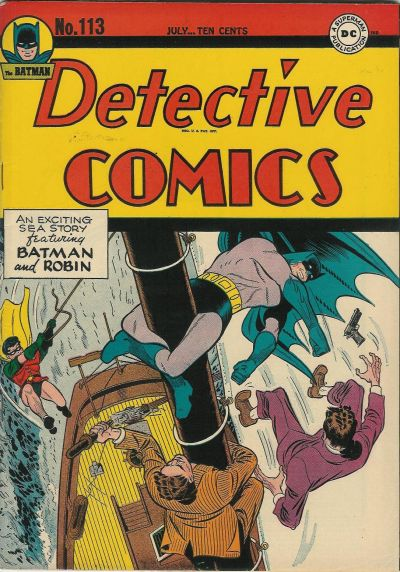 Cover for Detective Comics (DC, 1937 series) #113