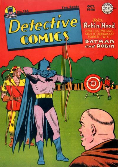 Cover for Detective Comics (1937 series) #116