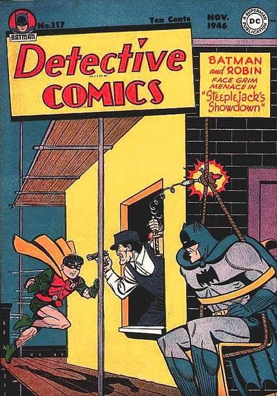 Cover for Detective Comics (1937 series) #117