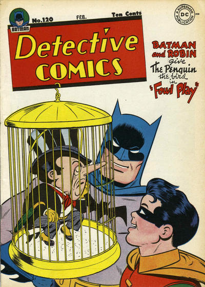 Cover for Detective Comics (DC, 1937 series) #120