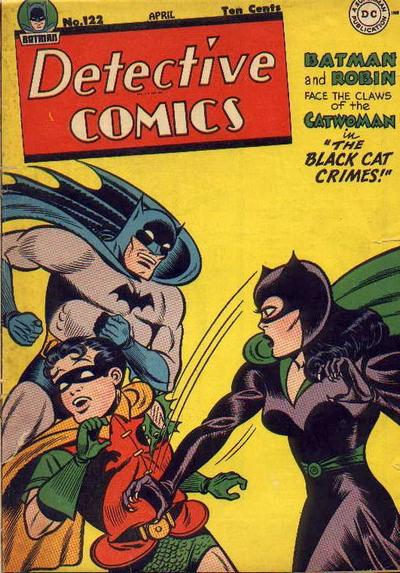 Cover for Detective Comics (1937 series) #122