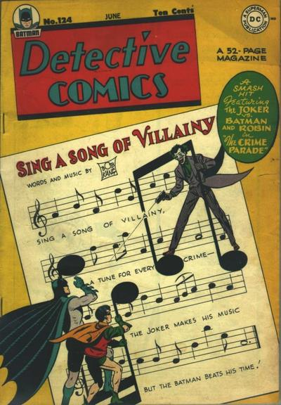 Cover for Detective Comics (DC, 1937 series) #124