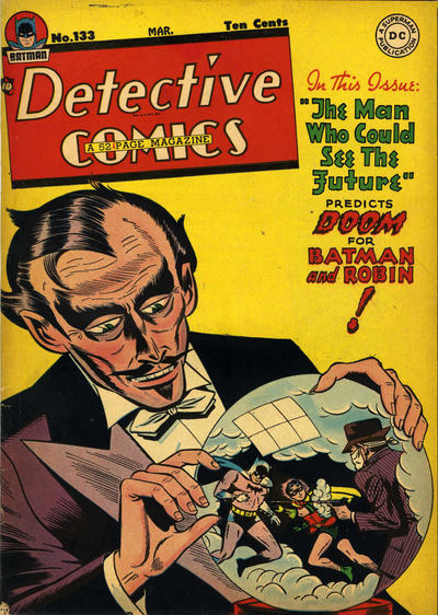 Cover for Detective Comics (DC, 1937 series) #133