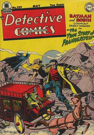 Cover for Detective Comics (1937 series) #135