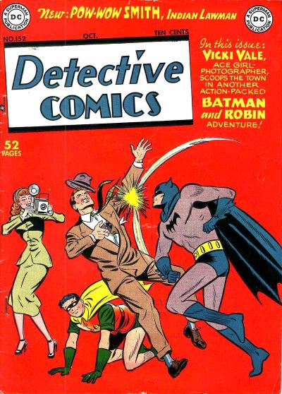 Cover for Detective Comics (1937 series) #152
