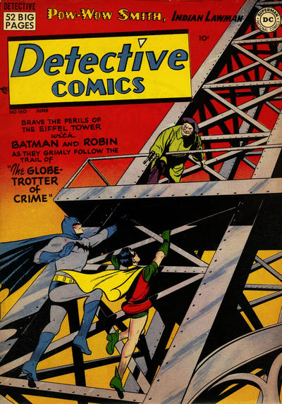 Cover for Detective Comics (1937 series) #160