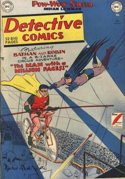 Cover for Detective Comics (DC, 1937 series) #166