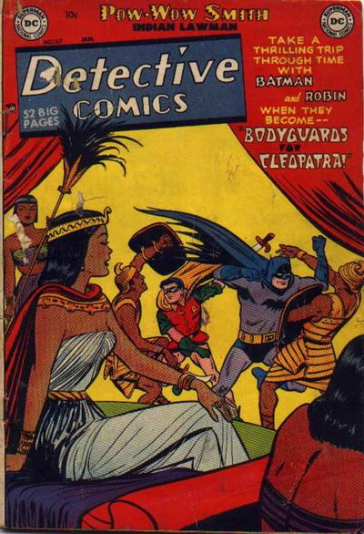 Cover for Detective Comics (DC, 1937 series) #167