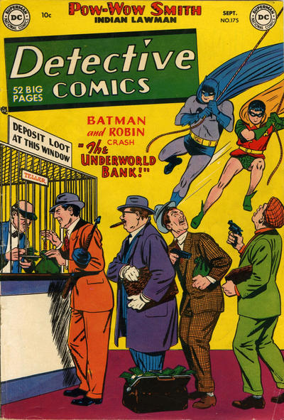 Cover for Detective Comics (1937 series) #175