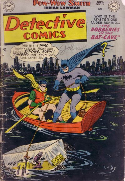 Cover for Detective Comics (1937 series) #177