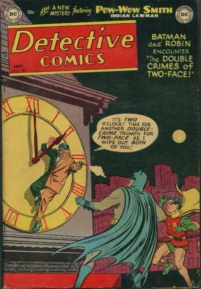 Cover for Detective Comics (1937 series) #187