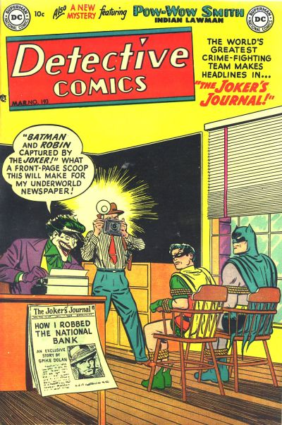 Cover for Detective Comics (1937 series) #193