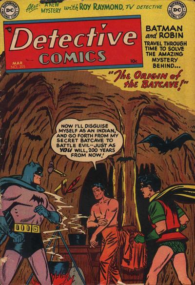 Cover for Detective Comics (DC, 1937 series) #205