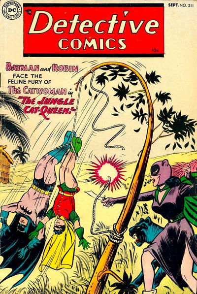 Cover for Detective Comics (DC, 1937 series) #211