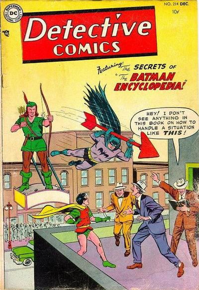 Cover for Detective Comics (DC, 1937 series) #214