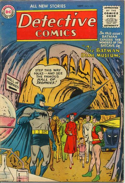 Cover for Detective Comics (1937 series) #223