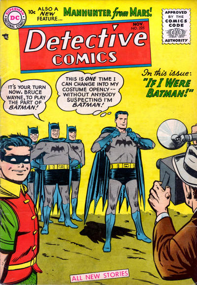 Cover for Detective Comics (DC, 1937 series) #225