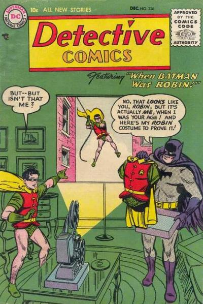 Cover for Detective Comics (DC, 1937 series) #226