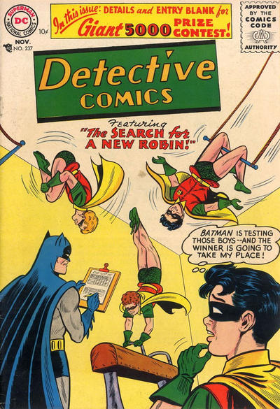 Cover for Detective Comics (DC, 1937 series) #237